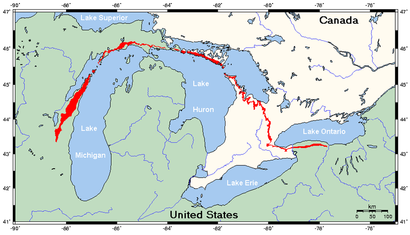 Geography of Wisconsin: Geology of Door County on map of racine wi, map of menomonie wi, map of apostle islands wi, map of algoma wi, map of black river falls wi, map of jacksonport wi, map of green bay wi, map of washington island wi, map of city of madison wi, map of castle rock lake wi, map of liberty grove wi, map of ohio by county, map of baileys harbor wi, map of lakewood wi, map of the fox valley wi, map of beloit wi, map of wisconsin, map of peninsula state park wi, map of de soto wi,