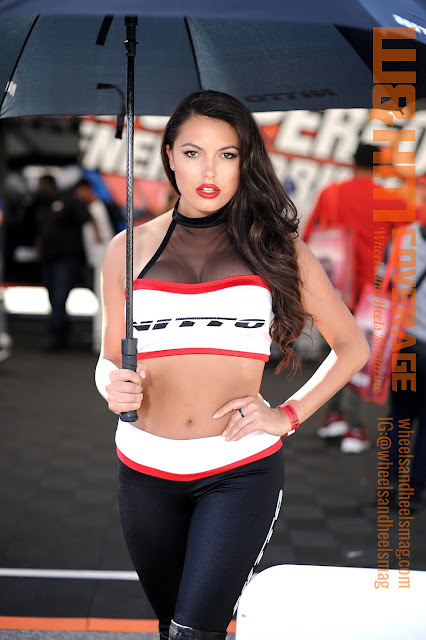 Our cover model Constance Nunes as Nitto Tire Girl