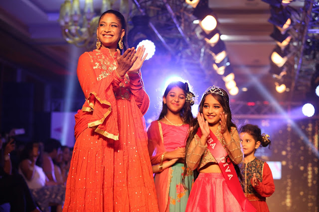 Little BIBA divas conquer the stage at India Kids Fashion Week, New Delhi