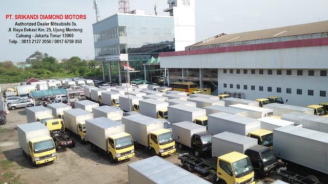promo paket kredit dp rendah mitsubishi colt diesel - box alumunium - box pendingin - box besi - 2019