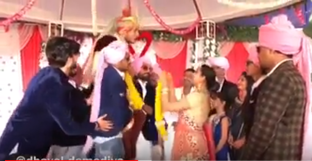 Gamda Ni Chhokri Sathe Lagan Thaya   Dhaval Domadiya Marriage   Comedy Video
