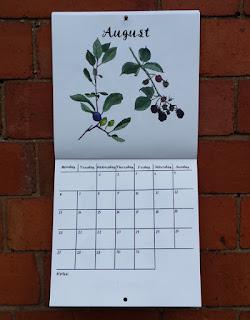 Alice Draws The Line 2018 Wall Calendar August