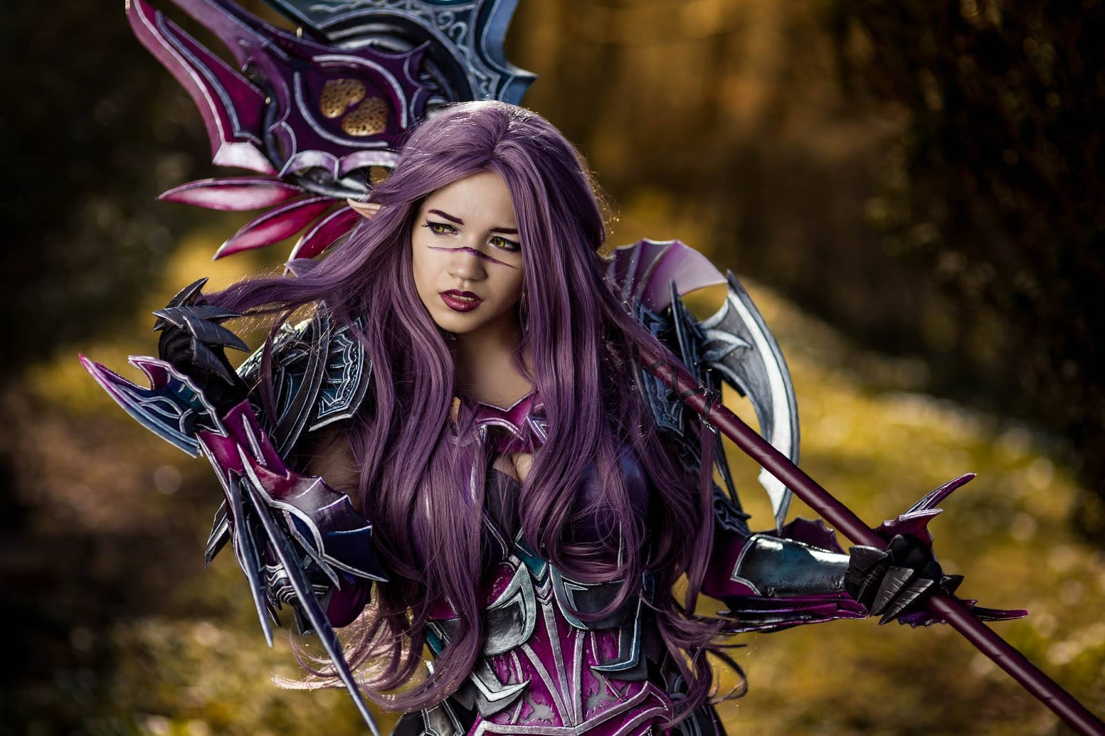 Aion Cosplay asmodian gladiator cosplay - aion   alienware arena