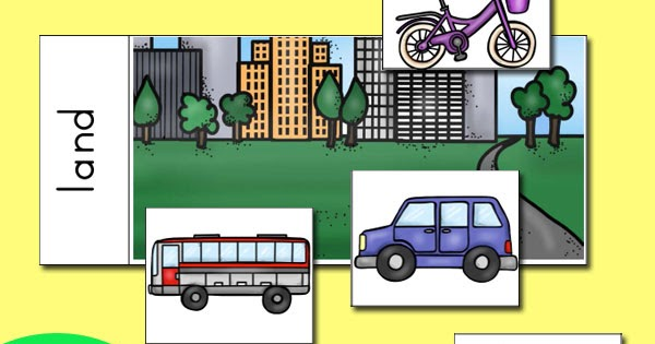 4 Transportation Themed Activities For Preschoolers