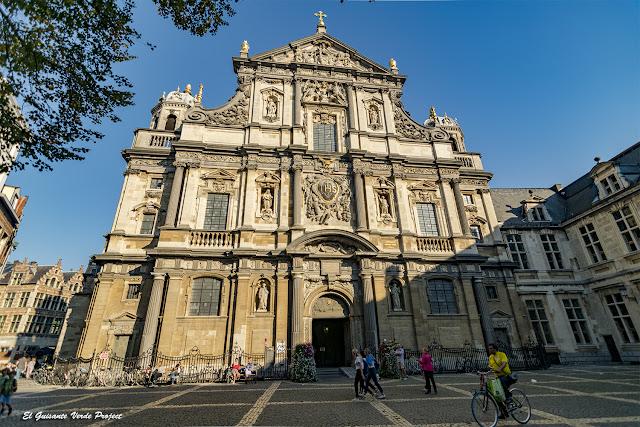 San Carlos Borromeo (fachada) - Amberes, por El Guisante Verde Project