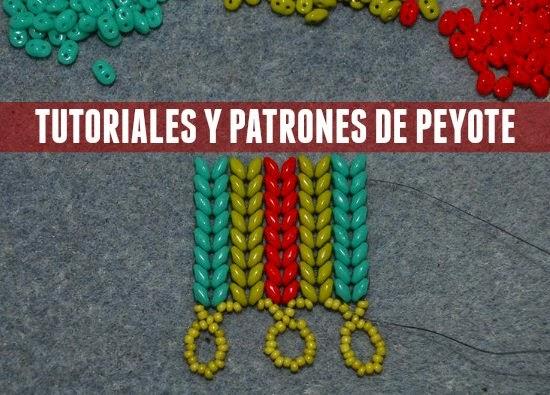 peyote, rocallas patrones bisutería
