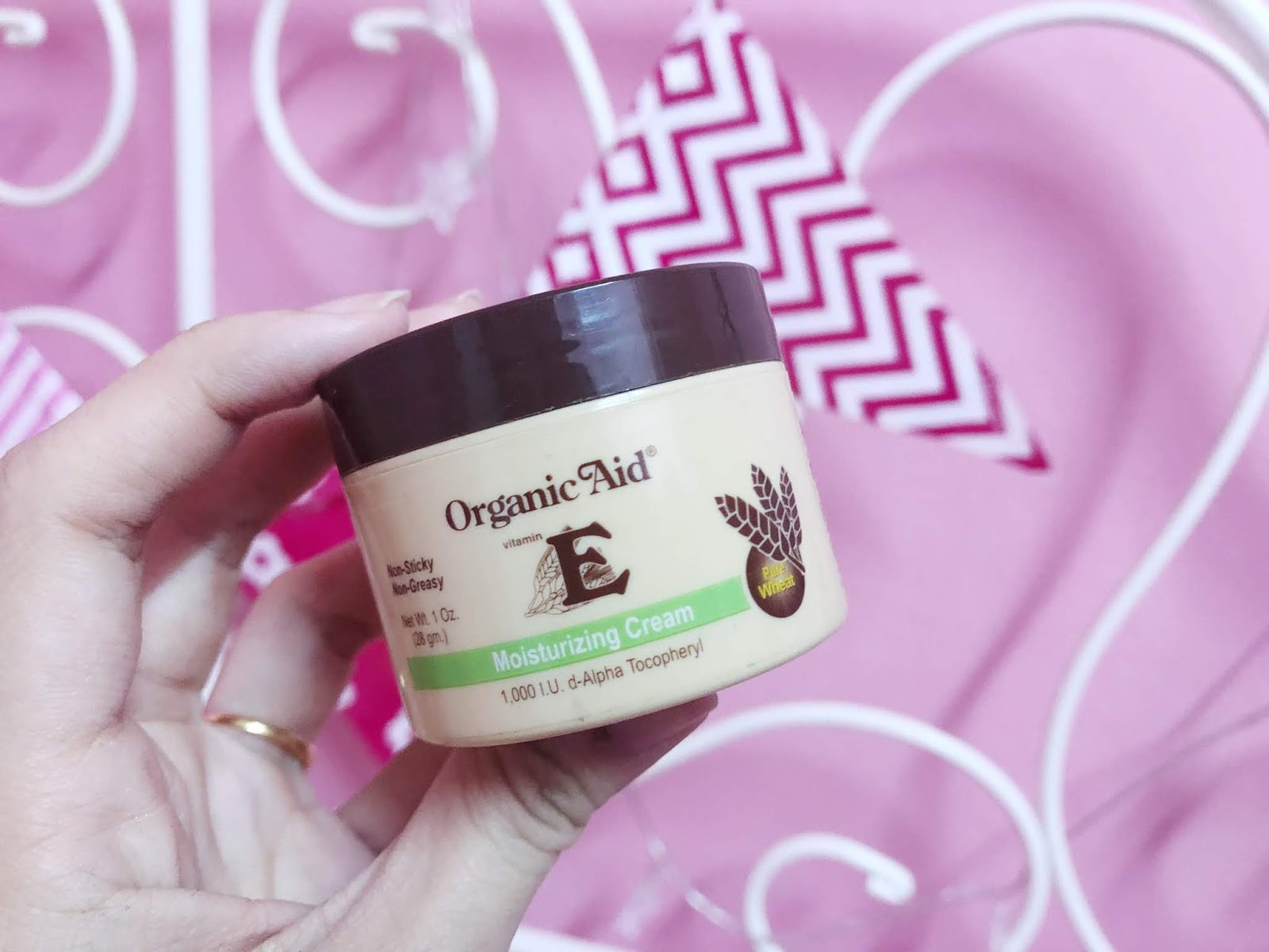 Organic Aid Vitamin E Moisturizing Cream Review ~ IMAN ABDUL RAHIM