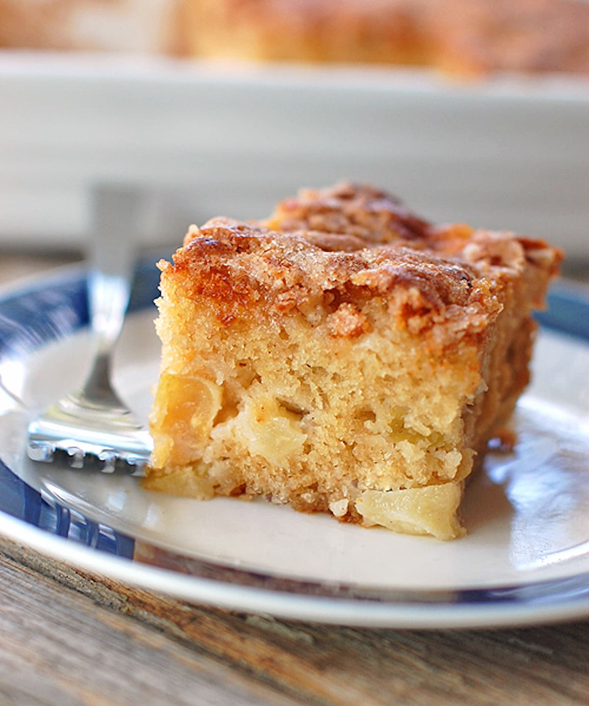 Cinnamon Sugar Apple Cake #cinnamon #sugar #apple #applerecipes #cake #cakerecipes #dessert #dessertrecipes