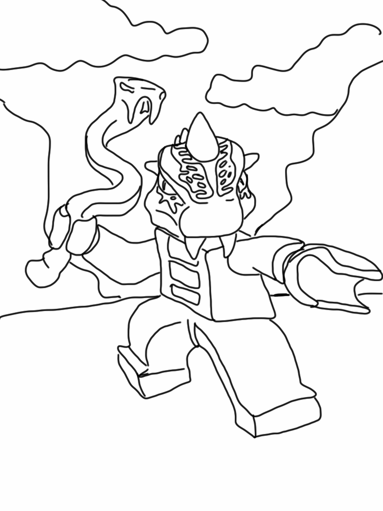 Lego Ninjago Coloring Pages | Fantasy Coloring Pages