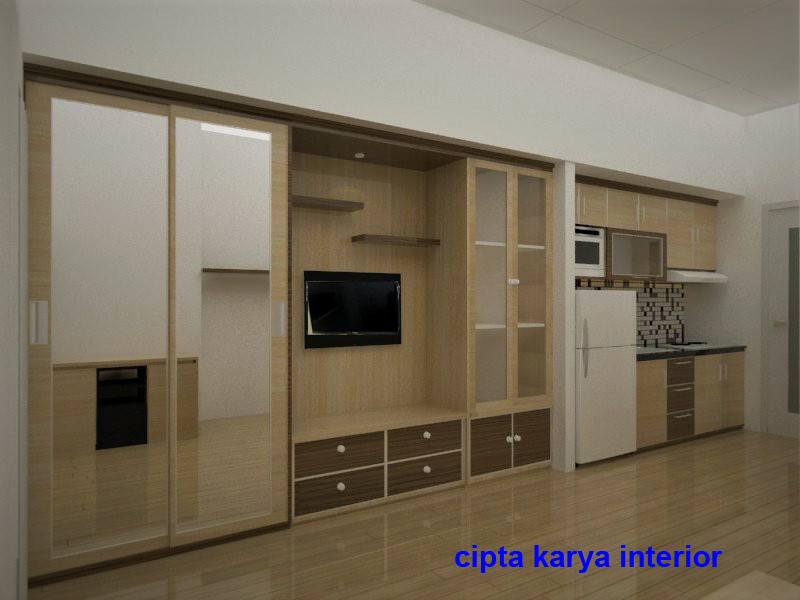 CIPTA KARYA INTERIOR apartemen studio