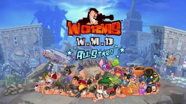WORMS W.M.D INCL ALL STARS PACK-GOG