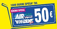 Logo Vinci 1.000 buoni spesa con Vivident e Vigorsol