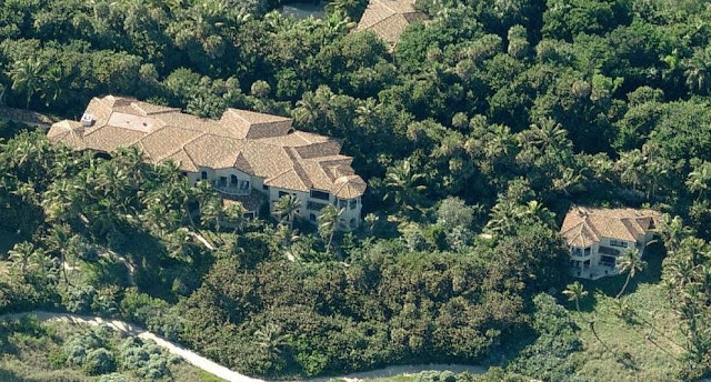 The main house of the $195 million property.