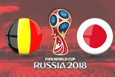 موعد عرض مباراة بلجيكا واليابان  بتاريخ 02-07-2018 كأس العالم 2018 في روسيا والقنوات الناقلة لها