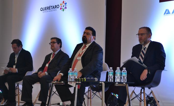 El Presidente Ejecutivo de la Industria Nacional de Autopartes (INA), Óscar Albín Santos participó en la tercera edición de Automotive Meetings 2017. (Foto: Vanguardia Industrial).