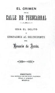 Imagen de la portada de El crimen de la calle de Fuencarral