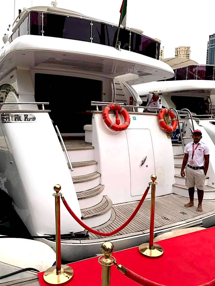 Yachting in Dubai | Dubai Blogger | Scarlet Bindi