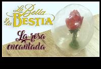 rosa encantada la bella y la bestia