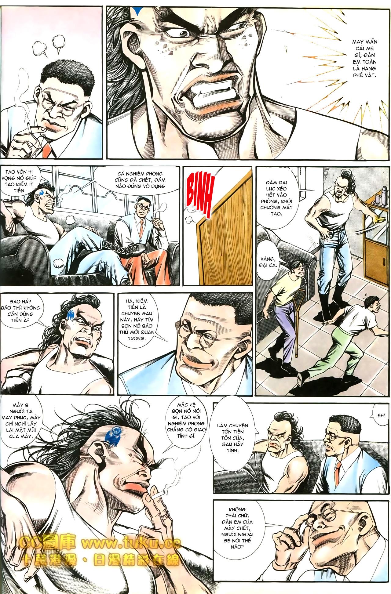 Người Trong Giang Hồ chapter 197: quạ đen báo thù trang 22