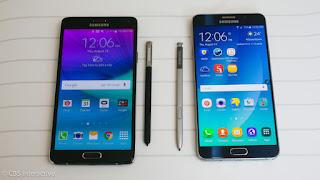Lançamento do Galaxy Note 5 agora dia 13