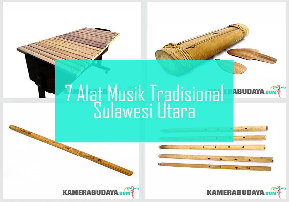 Inilah 7 Alat Musik Tradisional Dari Sulawesi Utara