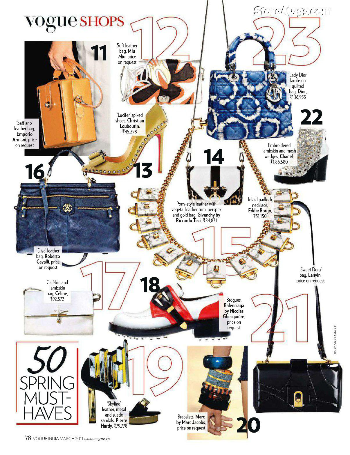Indian Fashion Trends: Vogue Spring Fashion: 8 Must Have