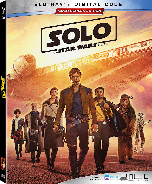 "Experience the fun-filled move, ""Solo: A Star Wars Story"" available on Digital 9/14 and on Blu-Ray on SEPT. 25th! #HanSolo"