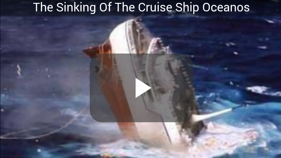 Video The Sinking Of The Cruise Ship Oceanos Seamans Softwares - Sinking cruise ship oceanos