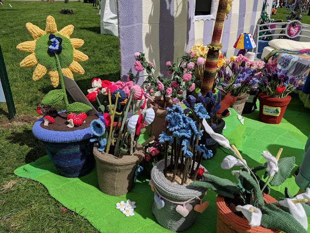 Work of Heart Knitted Garden Malvern Show