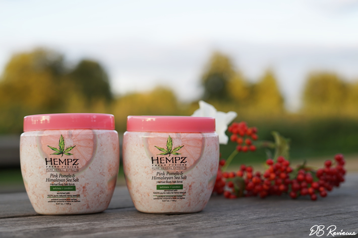 Hempz Beauty Pink Pomelo & Himalayan Sea Salt Scrub