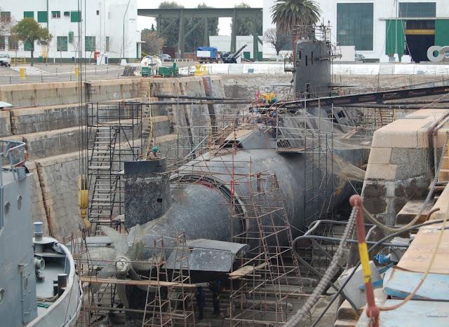 Argentina: Submarino ARA San Juan terminado.