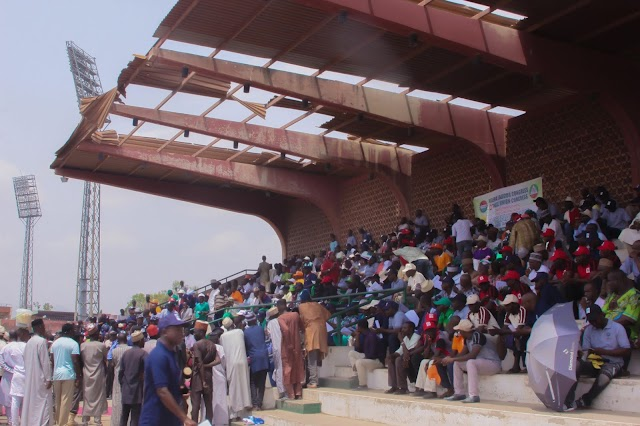 #MAY1 WORKER DAY: Venue of Bauchi 2019 workers day, so pathetic as only the Head of Service was sent to represent the governor