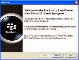 Blackberry All Mobiles Flashing Tool/Software Free Download For Windows