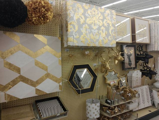 Gold Decor and Wall Art