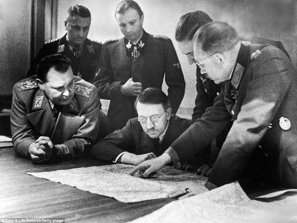 Image result for german high command and hitler