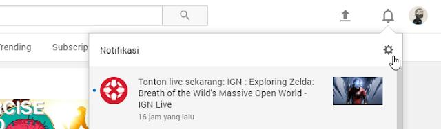 settings youtube