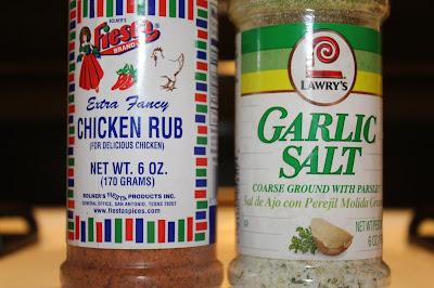 chicken rub garlic salt