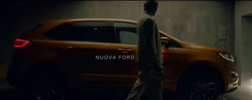 Canzone Ford Edge  pubblicità con uomo vestito di bianco - Musica spot Novembre 2016