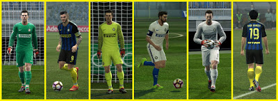 PES 2013 F.C. Internazionale 2016/17 GDB kits by dodyferro