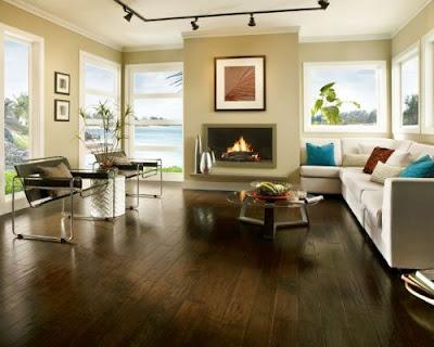 Sàn gỗ tự nhiên chiu liu thuộc tông màu tối