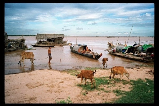 Life along the mighty Mekong River