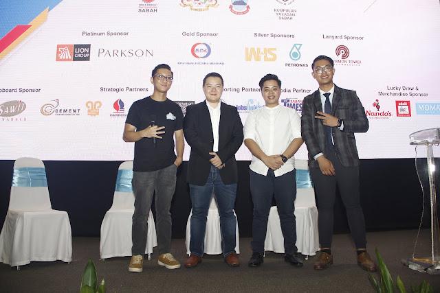 Millenials entrepreneurs; Sabah Job & Entrepreneur Fair 2018 @ Kompleks Sukan Kota Kinabalu (Likas)