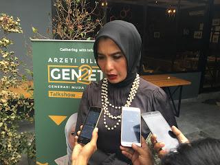 GEN2ETI Generasi Muda Wearezeti Gelar Gathering With Influencer Arzeti Bilbina