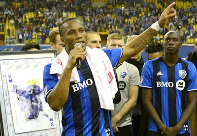 Didier Drogba remixes Davido's latest single IF