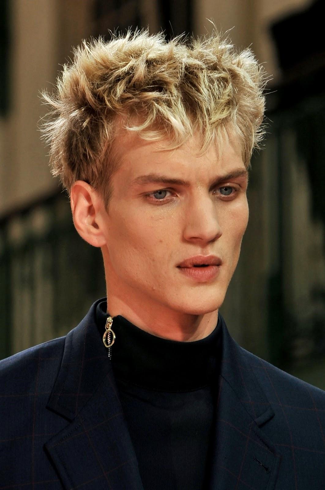 Male Model Otaku: Paul Boche: Spring/Summer 2014 【NY~Paris~Milan~London】