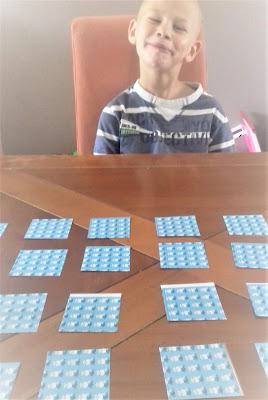 Diego apprends les tables de multiplication