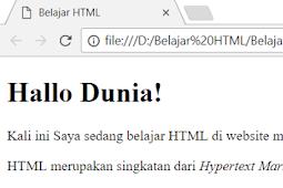 Cara Membuat Huruf Miring Dalam HTML Dengan Tag i dan Tag em