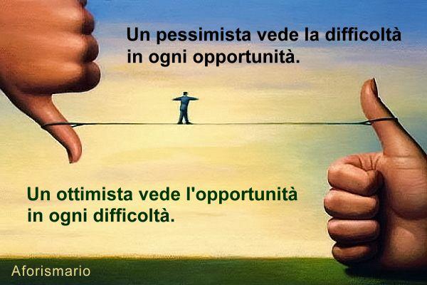 frasi ottimistiche sulla vita