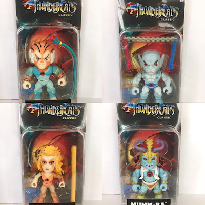 San Diego Comic-Con 2017 Exclusive ThunderCats Action Vinyls Variant Figures by The Loyal Subjects