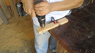 Perforando con el taladro